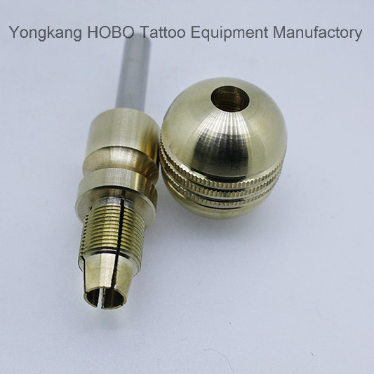 Newest Premium Brass Self-Lock Tattoo Grips Cartridge Supply