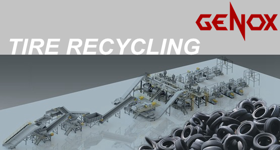 5000kg/Hr Tire Recycling Plant / System