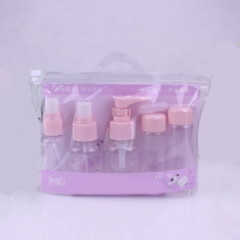 Plastic Travel Set, Pump Sprayer Bottle (PT07)