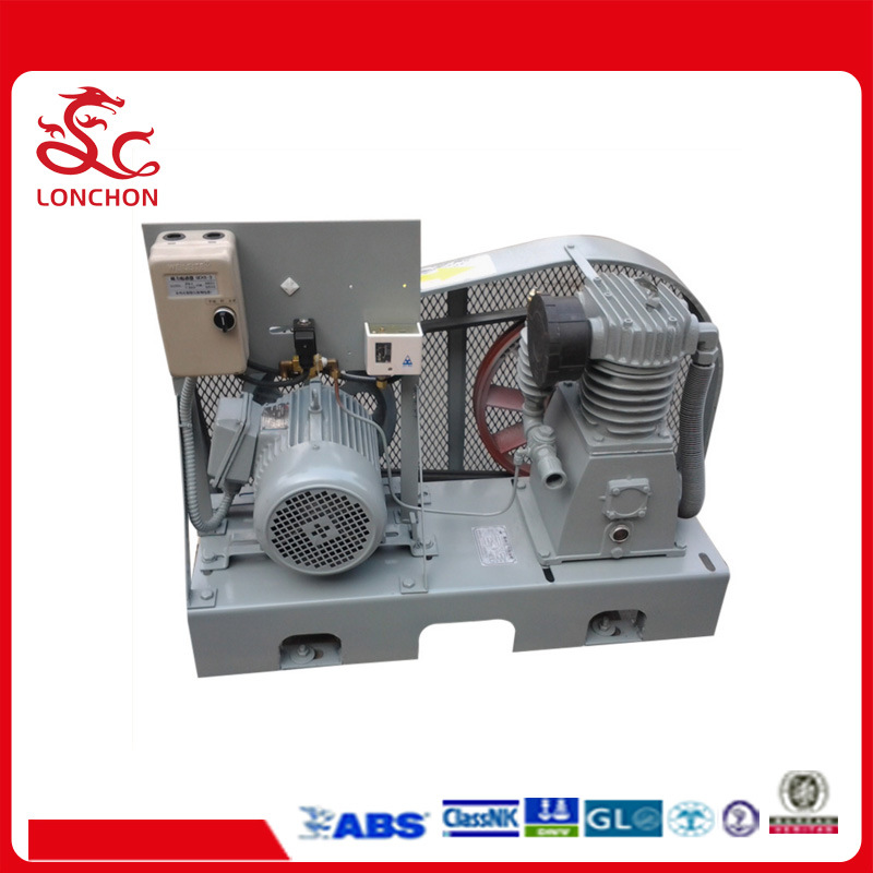 Semi-Closed Type Air Cooling Compressor for Ship