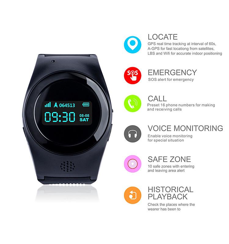 High Quality Mini GPS Tracker for Child/Elderly R11