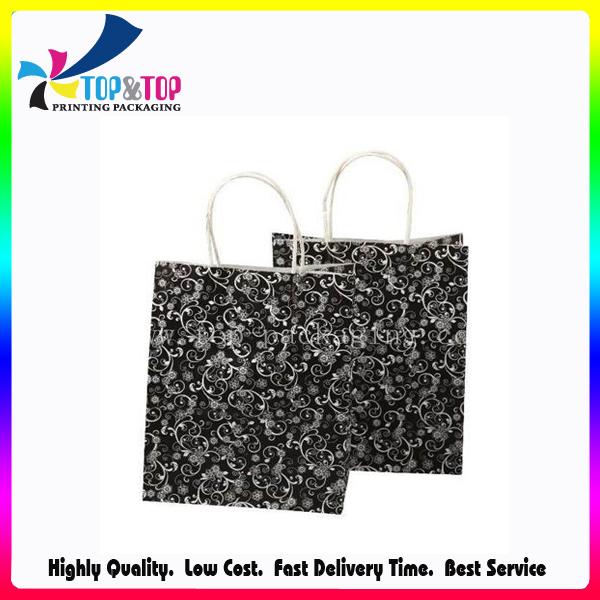 Pantone Print Luxury Foldable Customized Paper Gift Bag