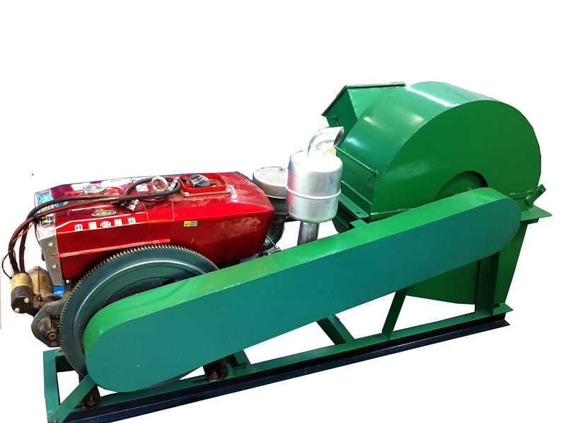 Hammer Mill and Wood Crusher Usage All in One Used in Farm and Wood Factory