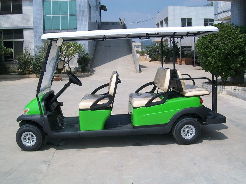 Cheap 6 Seat Electric Sightseeing Car/Cart for Tourist Resort