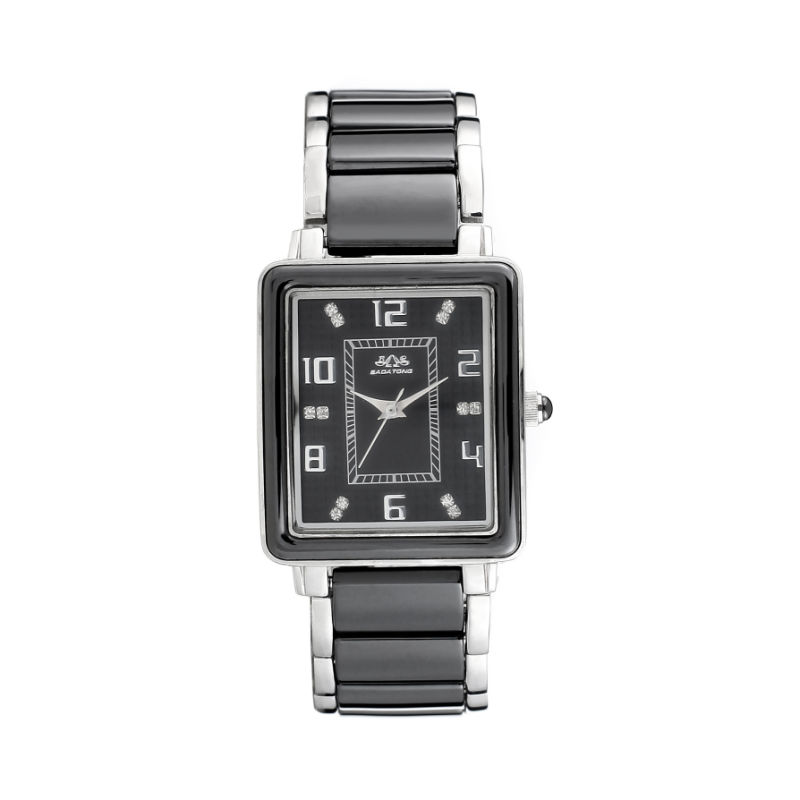 Square Design, Dress Man Watch Stainless Steel Waterproof Wrist Band Fashion Sport Quartz Men Watch 88048g