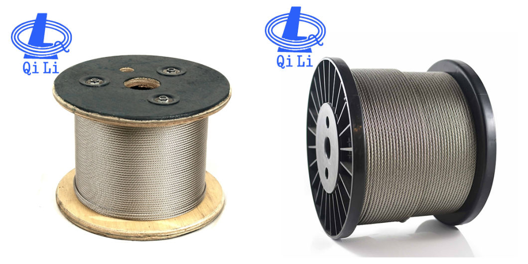 Hot Sale 316 6X7 Stainless Steel Wire Rope