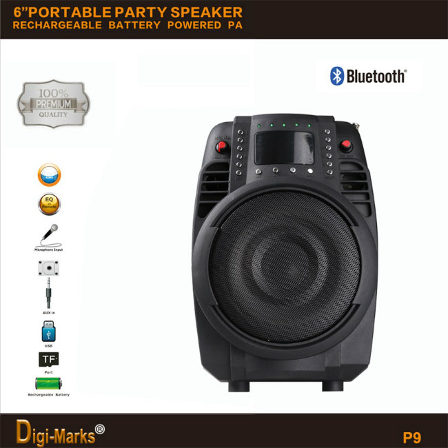 Mobile Portable Wireless USB FM Mini Bluetooth Multimedia Active Speaker