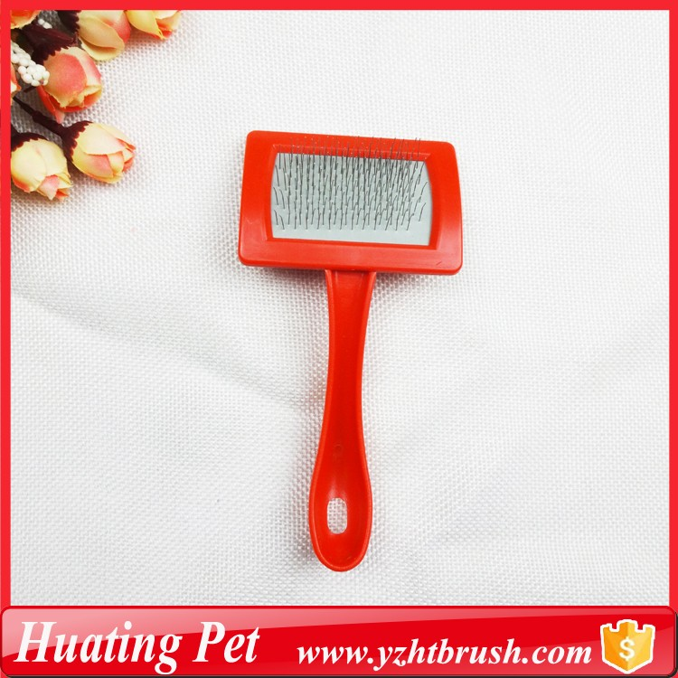 plastic pet slicker brush
