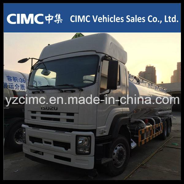 Isuzu Qingling Vc46 Fuel/Oil/Water Tank Truck 20m3 Capacity