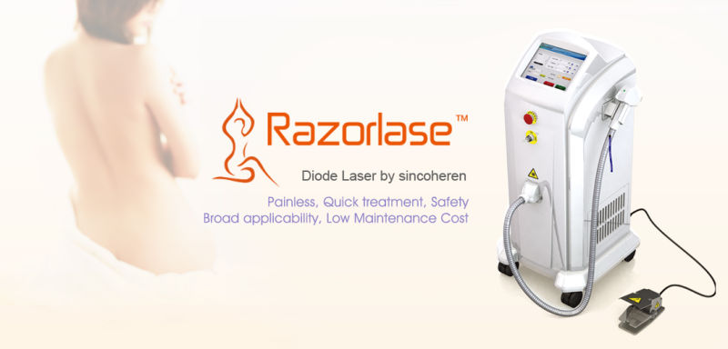 Alexandrite Lightsheer Diode Laser for Permanent Hair Removal with Tga, Medical Ce & FDA