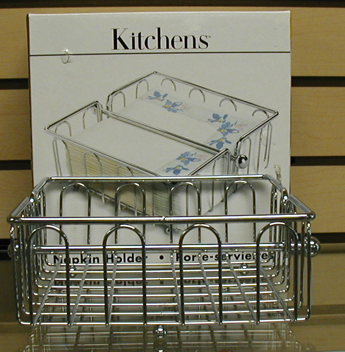 Simple Kitchen Metal Napkin Holder Basket