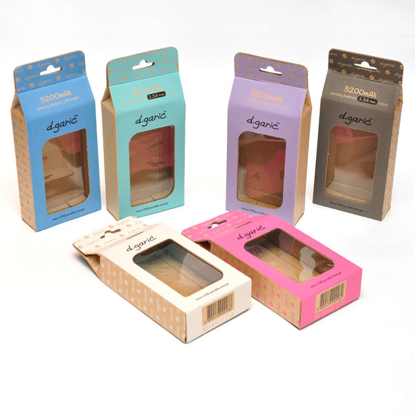 Manufacturer Colorful Candy Packaging Box with Window