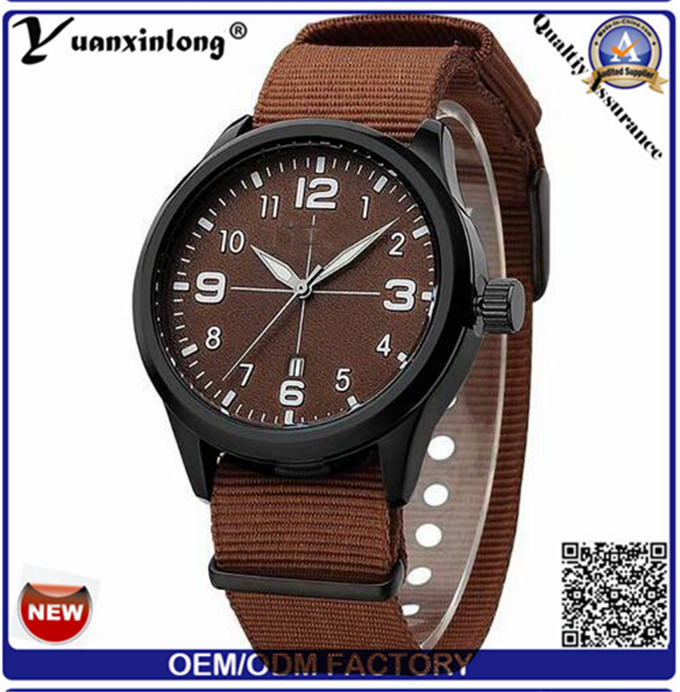 Yxl-313 Nylon Band or Strap Top Sell Stainless Steel Watch Calendar Date Casual Dw Style Sport Watches for Mens Women