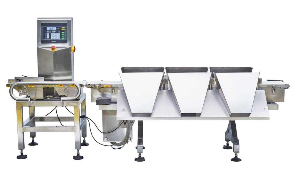 High Accuracy Checkweigher Sorting Machine