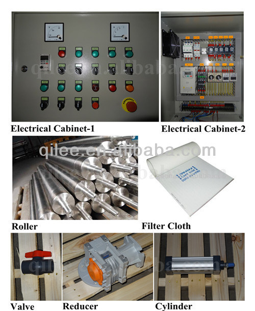 Heavy Duty Belt Filter Press for Chemicals Sewage Treatment and Sludge Dewatering Equipment