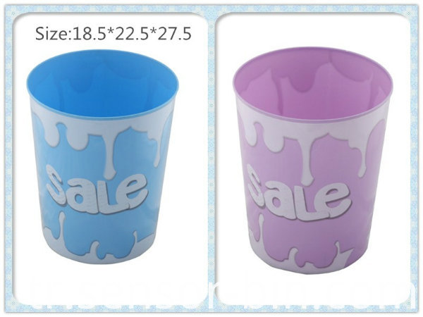 Big Sale Fashion Round Toilet Pail /Paper Basket (FF-5228)