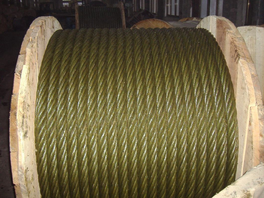 safety Steel Wire Rope 6X19s+FC