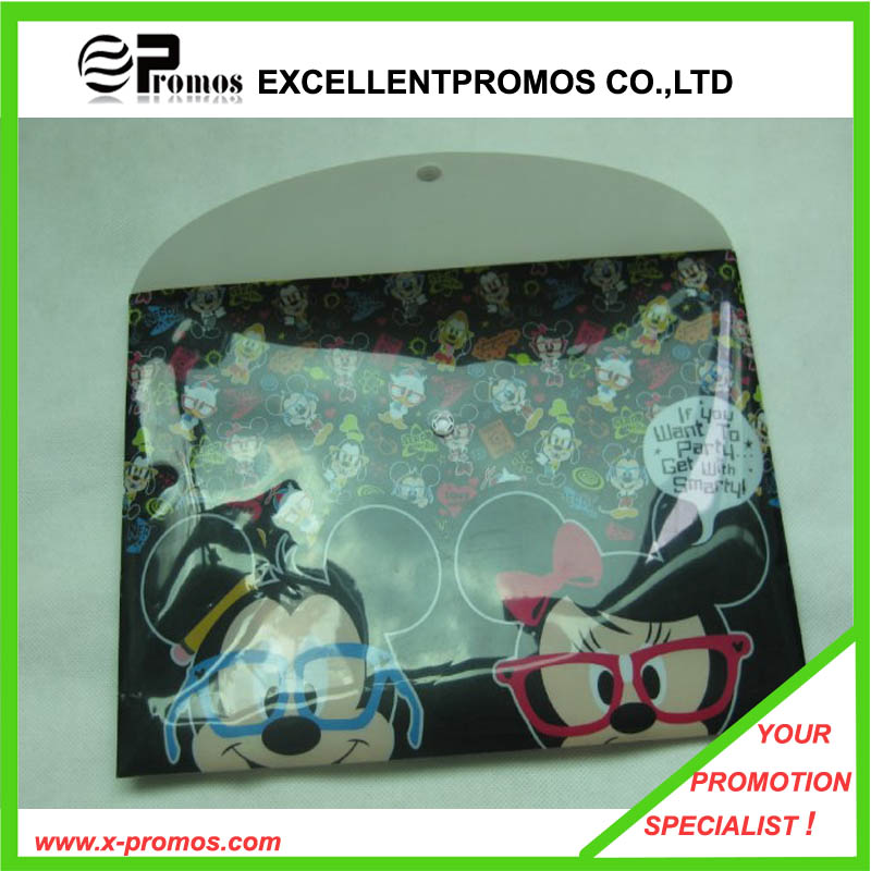 Advertising Logo Printed A4 Document File Bag (EP-F9114-2)