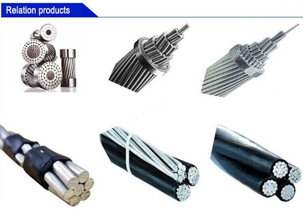 Aerial Bundled Cable XLPE Insulated Duplex / Triplex / Quadruplex ABC Cable