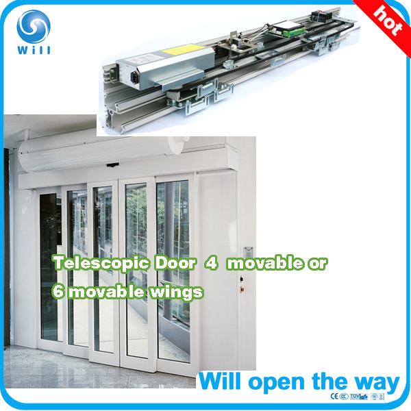 Automatic Door Telescopic Sliding Type