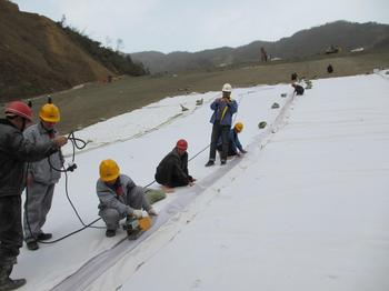Long Fiber Non Woven Geotextile for Construction