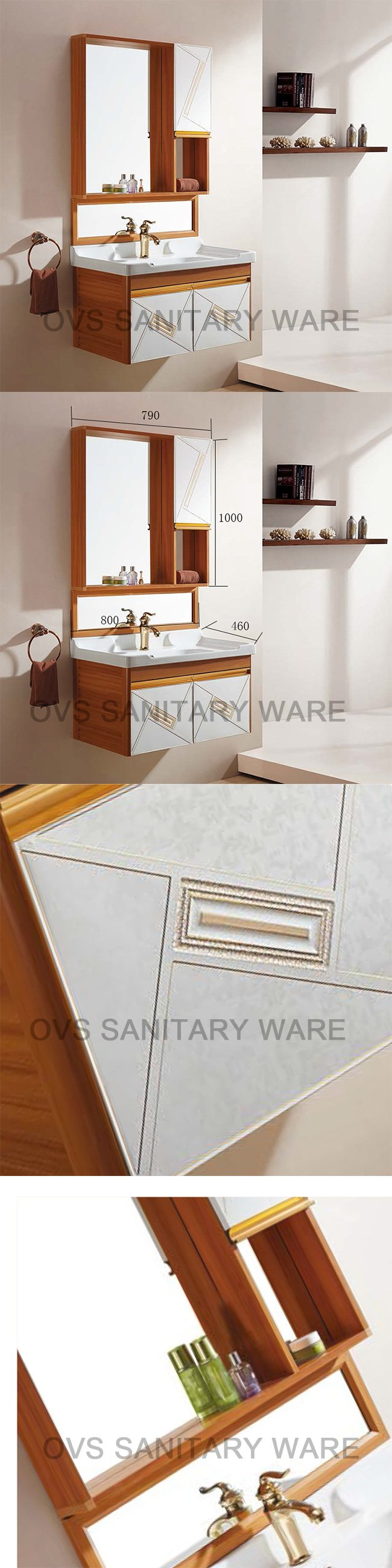 2017 Imported Bathroom Cabinets From China