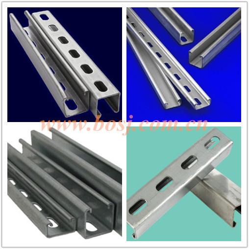 Acero Galvanizado Canal Estructural Riel Roll Forming Machine Mexico