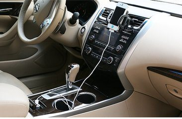Wholesale Mobile Phone Car Charger with 2 USB Ports
