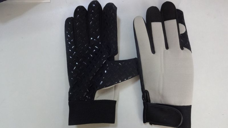 Silicone Dotted Palm Glove-Industrial Glove-Labor Glove-Machine Glove-Weight Lifiting Glove
