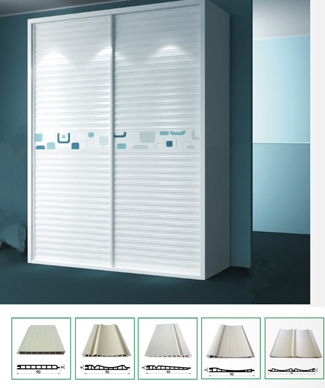 WPC Sliding Door Panel WPC Wall Panel Ceilings Wd-90h9-a