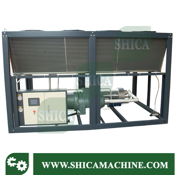 60HP Big Screw Chiller/ Air Cooled Screw Water Chiller