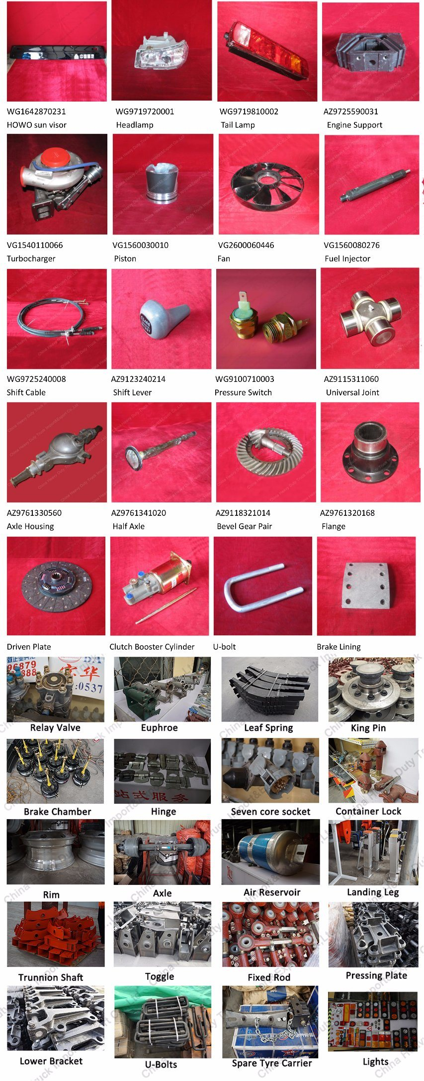 Sinotruk Spare Parts Engine Generator Alternator Vg1095094002 for HOWO Truck