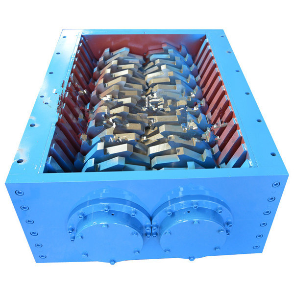 Metal Shredder for Recycling Waste Car Metal Drum Waste Tire Recycling Machine