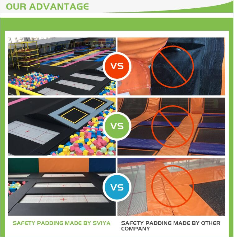 Best Quality Factory Price Trampoline with Foam Pit