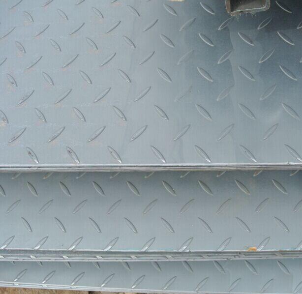 Tear Drop Ss400 Hr Steel Mild Carbon Checkered Plate