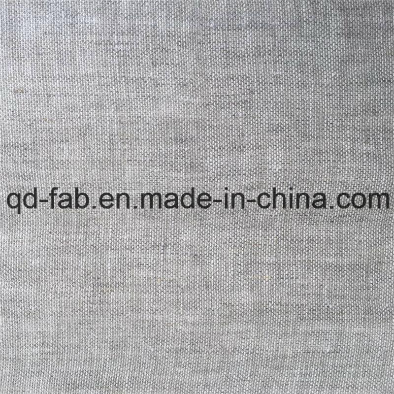 Yarn Dyed Linen Fabric (QF16-2478)