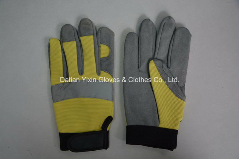 Work Glove-Safety Glove-Industrial Glove-Micro Fiber Glove-Cheap Glove