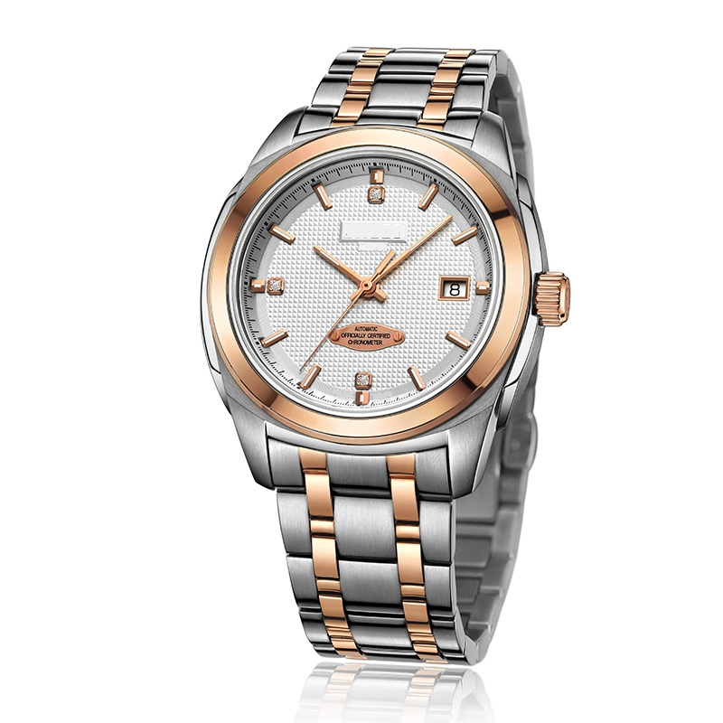 Stainless Steel Mens Wristwatch Full Automatic Mechanical Movement