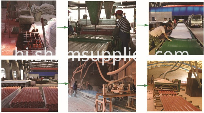 MgO Corrugated Roofing sheets