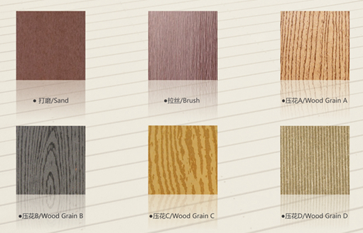 Solid WPC Decking for Outdoor Flooring (M128)