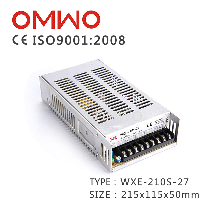 Wxe-210s-24 Single Output Switching Power Supply