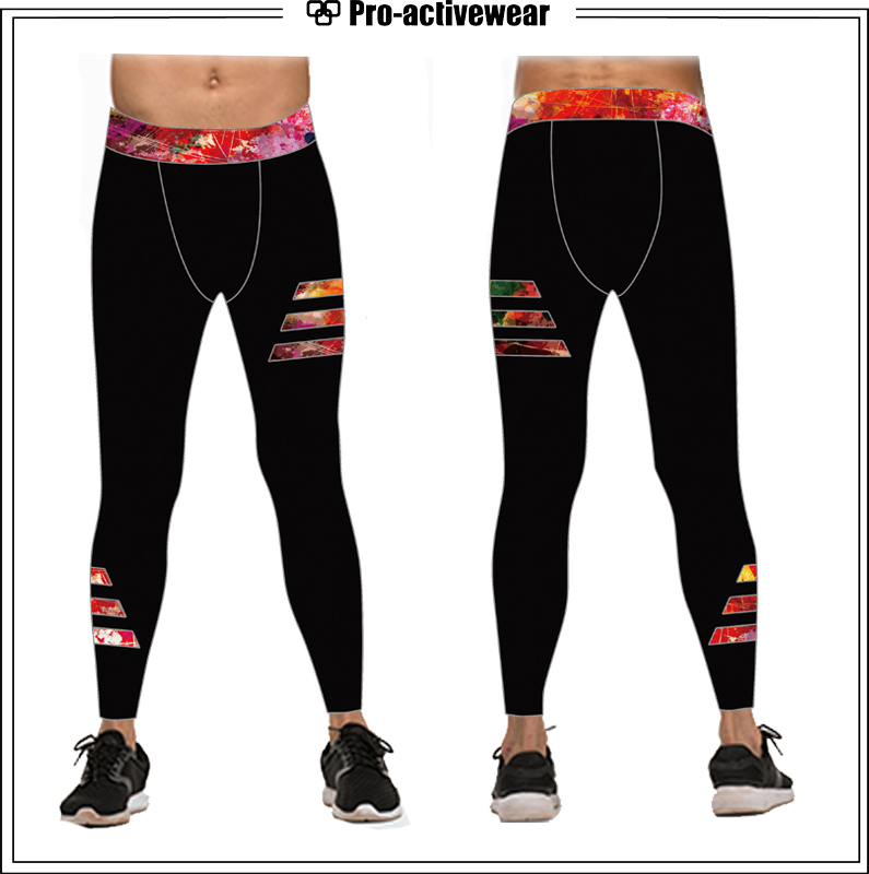 Newest Best Price Wholesale Men Sports Workout Tights