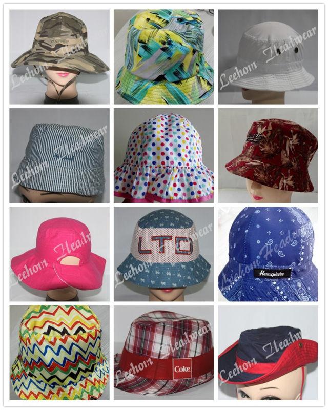 Promotional Fishing Bucket Hat with Nylon Mesh (LB15100)