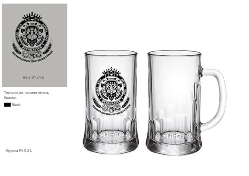 High Quality Glass Cup Beer Mug Beer Tumbler Kb-Hn03590