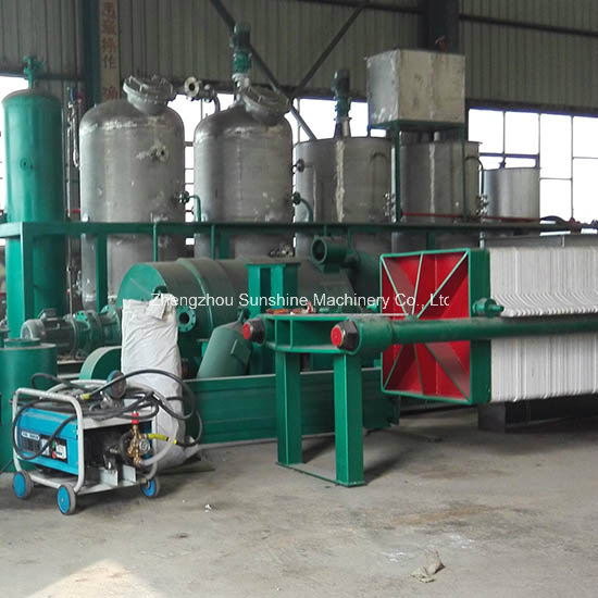 30t/D Cotton Seed Crude Oil Refining Machine
