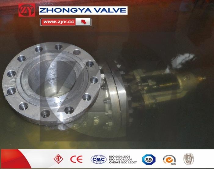 API Flange Connection High Pressure Hand Wheel Gate Valve