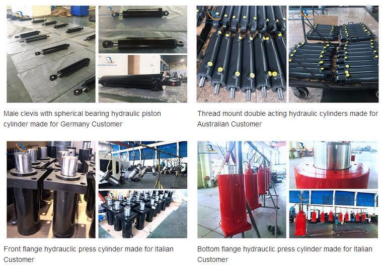Customized Cross Tube 2500/3000 Psi Hydraulic Cylinder