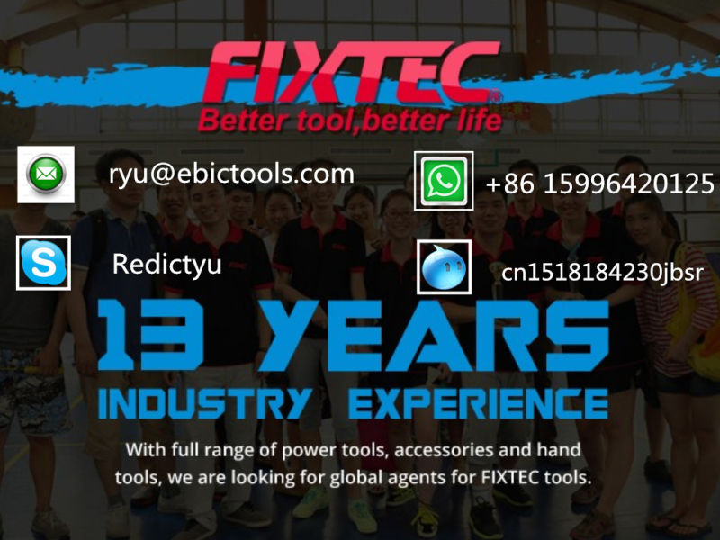 Fixtec 1300W Electric High Pressure Washer Car Washer