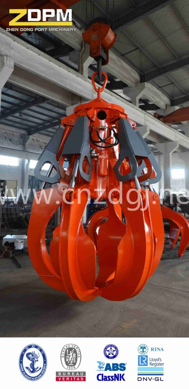 Steel Scrap Grab/Electric Hydraulic Orange-Peel Grab
