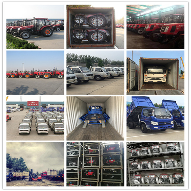 FC2000 5-8 Tons Lcv Lorry Light/Flat/Light Duty Cargo/Medium/Flatbed Truck